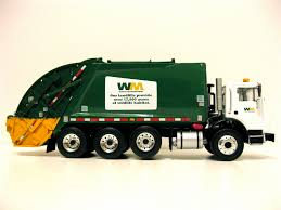 First Gear Mack MR Waste Managent Rear Load Garbage Truck.… | Flickr