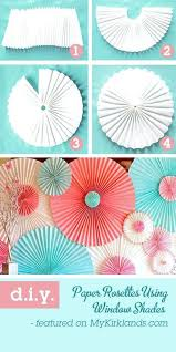 Exotic Diy Party Decoration How To Make A Backdrop With Paper Window Shades Christmas