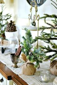Buffet Table Decorations Decor Pictures Winter In The Dining Room