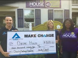 100 Ozone House Ozone House Charity Check Donation Applied Fitness Solutions