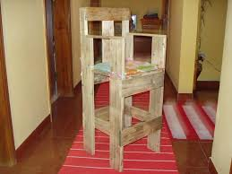 Recycled Pallet Chair For Kids