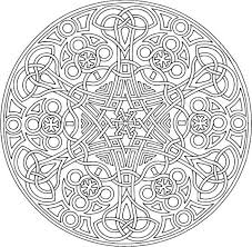 Kids Coloring Pages Mandala Designs With Pattern Free Printable