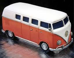 VW Bus Cake from Mikes Amazing Cakes