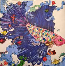 Coloured By Sandra Kelley Adult ColoringColouringColoring Books