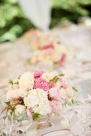 Pretty Light Pink And White Floral Wedding Centerpiece Photo By Stephanie Cristalli Photography