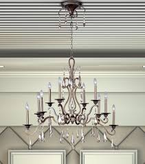C188 2647 Hamilton Home Heritage Finished Multi Tier Wrought Iron Chandelier Chandeliers Lighting