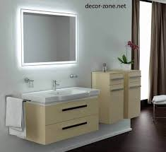 bathroom lighted bathroom mirror ideas with wall mount bathroom