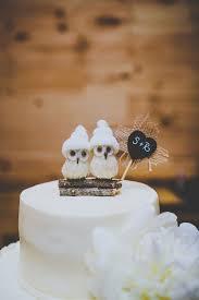 Winter Wedding Cake Toppers Best 25 Owl Ideas On Pinterest Topper