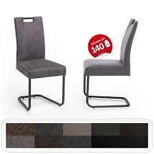 schwingstuhl kato mit griff gestell schwarz esszimmerstuhl küchenstuhl expendio