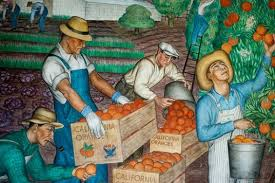 Coit Tower Mural City Life by Coit Tower Murals Raise Your Glass To The Hard Working People