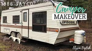 104 Restored Travel Trailers Camper Makeover Trailer Remodel Project Camper Renovation On A Budget Episode 1 Youtube