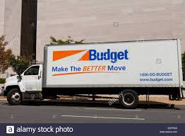 Budget Rental Truck Usa Stock Photos & Budget Rental Truck Usa Stock ...
