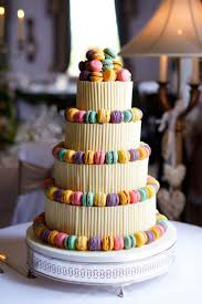 Fun And Colourful Creative Wedding Cake Idea For Your Special Day At Chilston Park Kent