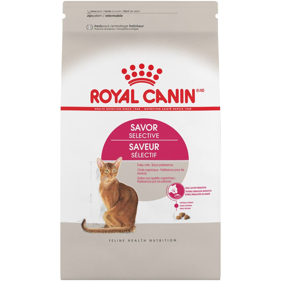 Royal Canin Feline Health Nutrition Selective Savor Sensation Adult Dry Cat Food
