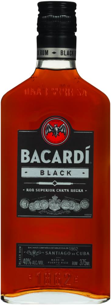 Bacardi Black Rum 375ml