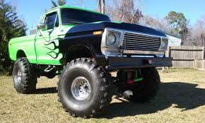 BangShift.com 1978 Ford F-150 Monster Truck On 44
