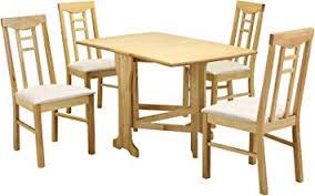 Heartlands Furniture Liverpool 5 Piece Dining Set