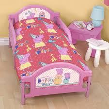 Peppa Pig Junior Cot Duvet Bed Set Amazoncouk Kitchen Home