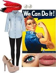 Rosie The Riveter Halloween Tutorial by The 25 Best Rosie The Riveter Halloween Costume Ideas Ideas On