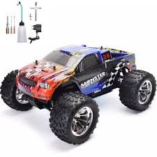 100 Gas Powered Remote Control Trucks US 19855 5 OFFHSP RC Truck 110 Scale Nitro Power Hobby Car Two Speed Off Road Monster Truck 94108 4wd High Speed Hobby Carin