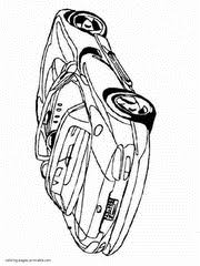 Car Coloring Pages To Print Sport And Racing