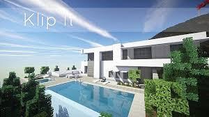maison de luxe minecraft maison moderne de luxe avec piscine minecraft idees deco