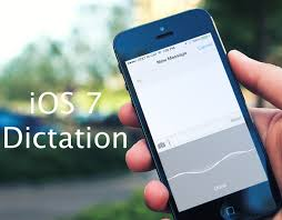 Use your words Dictating emails notes and more with iOS 7