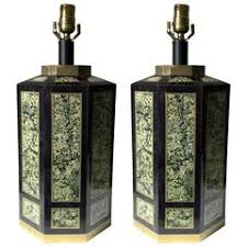 Maitland Smith Buffet Lamps by Pair Of Maitland Smith Candlestick Lamps In Patinated Woven Copper