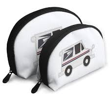 100 Who Makes Mail Trucks Amazoncom ZimuGalaxy Truck Man Cosmetic Clutch Bag Shell