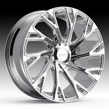 100 Custom Rims For Trucks Cruiser Alloy 925V Cutter Chrome PVD Wheels Cruiser