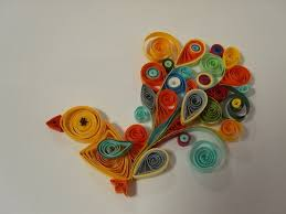 Paper Quilling Birds Design Ideas Easy Arts And Crafts Within Art Craft Designs