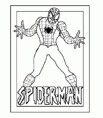 Spiderman Coloring Page Printable In Within Pages