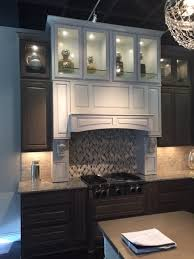 Kent Moore Cabinets Ltd by Custom Wine Room In Grey Wolf With Pewter Glaze Yelp