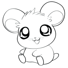 Coloring Page Cute Baby Animals Pages Zoo Inside Animal