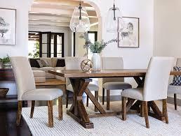 Coastal Dining Room With Chandler Set