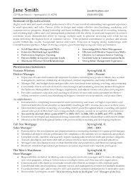 Sample Resumes For Retail Supervisor Resume Manager Management Job