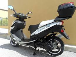 Saturn Series Lancer 150cc Scooter Moped