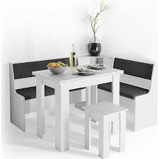 vicco eckbankgruppe küchenbank weiß 107cm sitzbank mit truhe esszimmerbank für esstisch