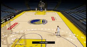 Goldenstate Warriors Oracle Arena HD Court Update
