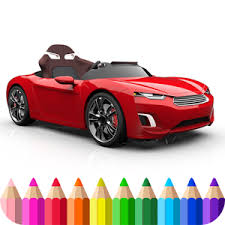 Best Cars Coloring Book