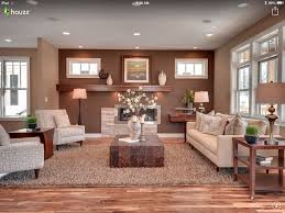 Earth Tones Living Room Design Ideas by The Wall Colors And How There Are Two Colors For The One Room An