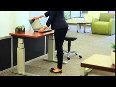 Tabella Adjustable Height Corner Desk 48