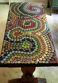 Decorate Your Table With Bottle Caps