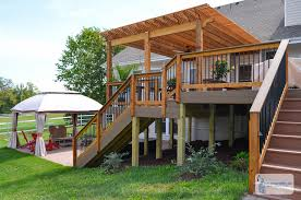 100 Additions To Split Level Homes Deck Designs For Homemade Ftempo