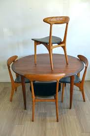 Danish Dining Room Table And Chair Modern Chairs With