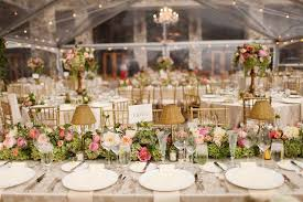 Gorgeous Tented Wedding Reception With Rustic And Pretty Floral Details In Park City