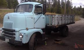 1956 International COE Cabover Dump Truck