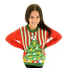 Leg Lamp Christmas Sweater Diy by Lighted Christmas Sweater Christmas Lights Decoration