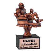 Armchair Quarterback Fantasy Football Trophy | MyDraftDay Fantasy Football League Champion Trophy Award W Spning Monster Free Eraving Best 25 Football Champion Ideas On Pinterest Trophies Awesome Sports Awards 10 Best Images Ultimate Archives Champs Crazy Time Nears Fantasytrophiescom Where Did You Get Your League Trophy Fantasyfootball Baseball Losers Unique Trophies