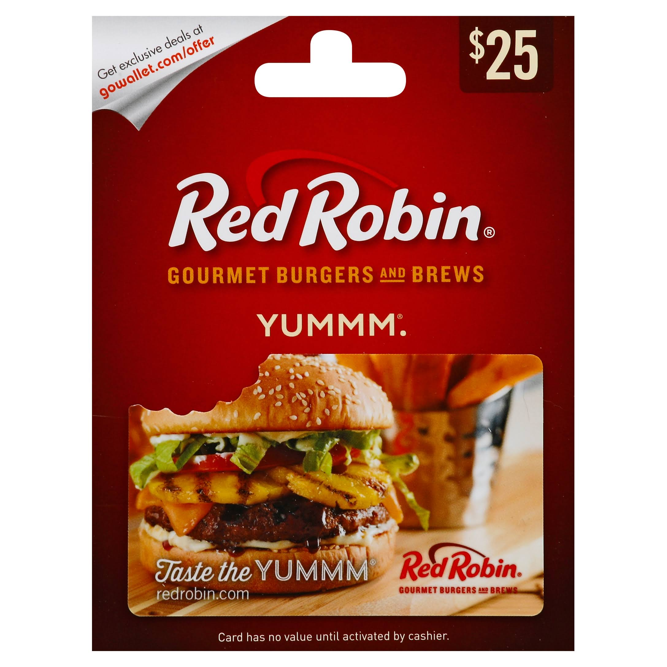 Red Robin Gift Card